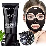 LuckyFine Blackhead Remover Mask, Peel Off Black Mask,...