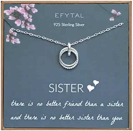 EFYTAL Thank You Branch Necklace Sterling Silver Dainty Horizontal Twig Jewelry Gift Women Girls