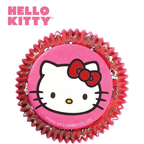 Wilton Hello Kitty Baking Cups - Hello Kitty Cupcake Toppers