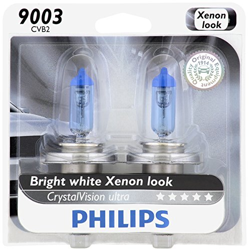 Philips 9003 CrystalVision Ultra Upgrade Headlight Bulb, 2 Pack (Toyota Headlights Tercel 1997 compare prices)