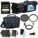 Canon VIXIA HF G40 Full HD Camcorder w/ Sony 64GB SD Card & Shoulder Bag Bundle