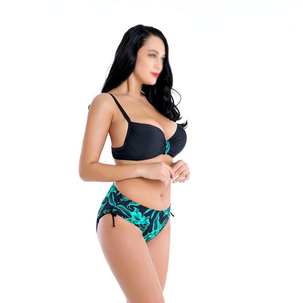 BEI-YI Bikini - Mode Damen Große Größe Auch Auch Auch System Mit Bikini Rückenfreies Dünger Dreieck Bikini Bademode -974Bikinis (Farbe   C, größe   5XL) B07PNWRFG4 Bikini-Sets Neues Design 8b8f54
