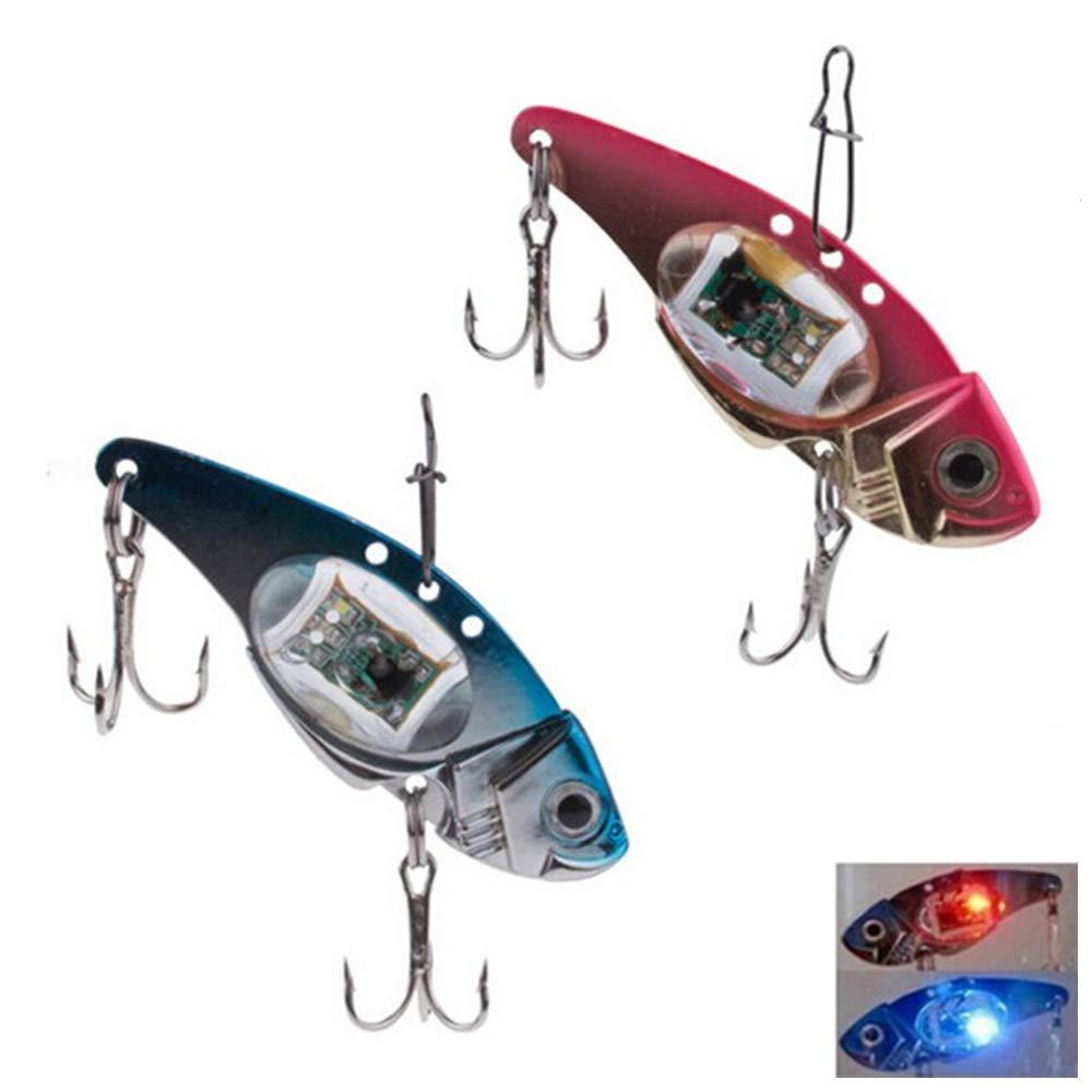 LED Deep Drop Underwater Fishing Fish Squid Bait Lure Light Flashing Lamp New YN