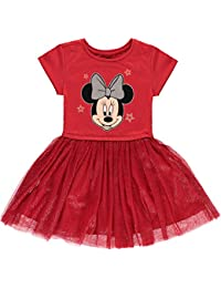 Minnie Mouse Girls Tutu Dress with Tulle Skirt - Disney