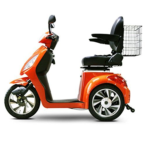 Scooter Freedom - E-Wheels EW-36 3-Wheel Electric Senior Mobility Scooter - Orange