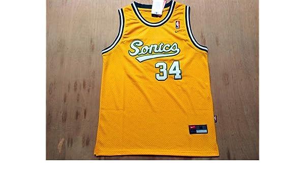 buy popular b9238 8fdd3 Men's Seattle Supersonics Ray Allen Jersey: Amazon.ca ...