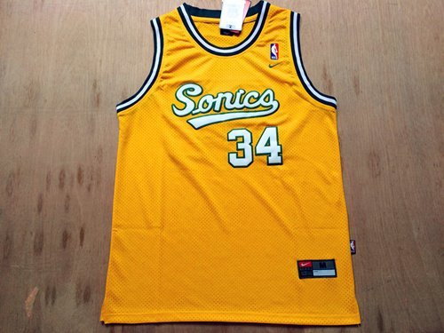 Image Unavailable. Image not available for. Colour  Men s Seattle  Supersonics Ray Allen Jersey b09e54f31