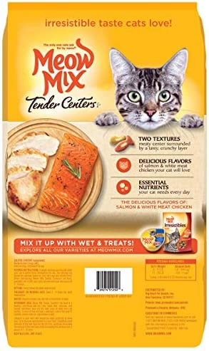 Meow Mix Tender Centers Dry Cat Food 3