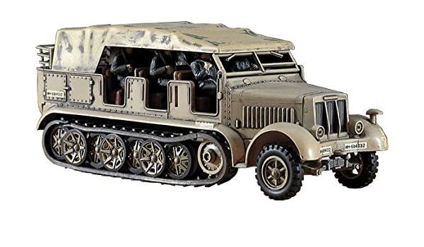 Amazon com: Hasegawa German Half Truck SDK 27 Model Kit
