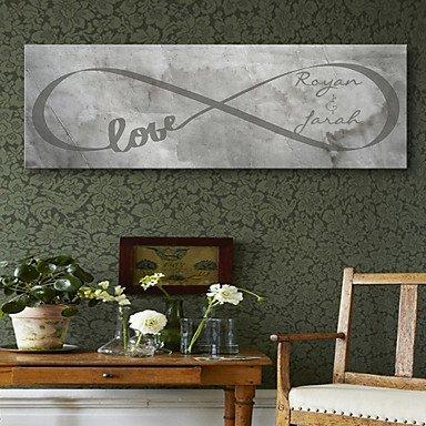 Thè me de jardin - Cadres & Plateaux de signatures ( Noir ) DL.Peinture à l' huile