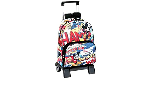 Mickey Mouse - Mochila carro superstar (Montichelvo): Amazon.es: Equipaje