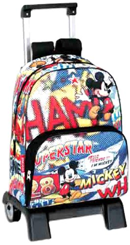 Mickey Mouse - Mochila carro superstar (Montichelvo)