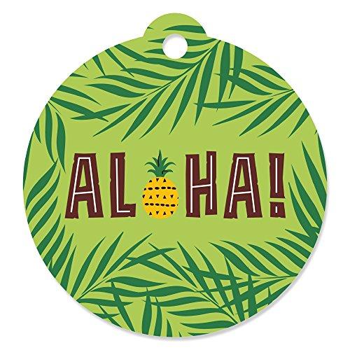 Aloha Gift Card (Tiki Luau - Tropical Hawaiian Summer Party Favor Gift Tags (Set of 20))