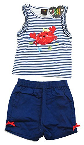 4007-4T Just Love Two Piece Girls Shorts Set
