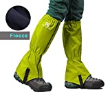Kyпить Moon Lence Waterproof Compact Climbing Leg Gaiters, Breathable Outdoor Hiking Leggings Nylon Cloth Dust-proof Gaiters Snowshoeing For Walking Climbing Hunting Backpacking на Amazon.com