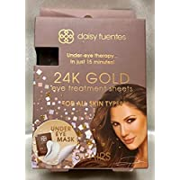 DAISY FUENTES 24K GOLD Under-Eye therapy in just 15 minutes. FOR ALL SKIN TYPES. 5 Pairs