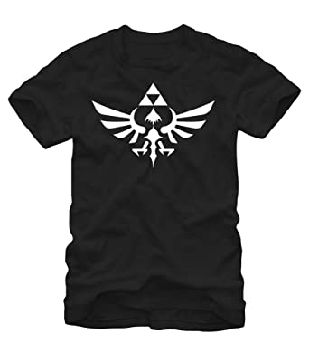 63554e86c The Legend Of Zelda Triumphant Triforce Shirt - Black (XXX-Large)