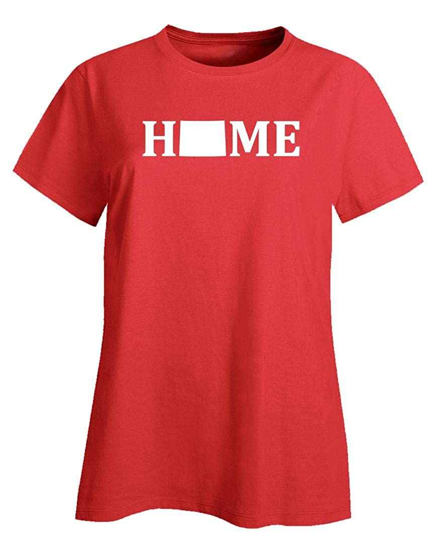 MESS Wyoming is Home USA State Pride - Ladies T-Shirt