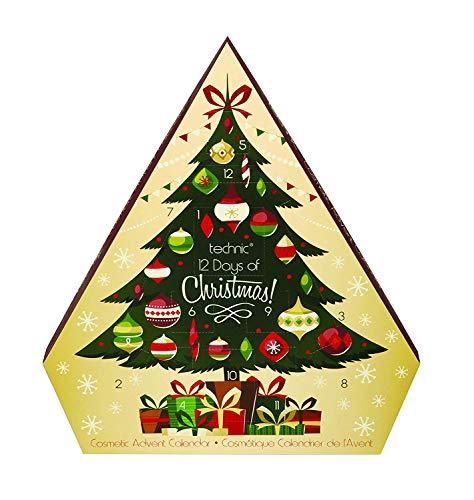Technic Advent Christmas Tree 12 Day Cosmetic Calendar