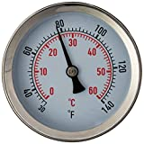 FastFerment Stainless Steel Thermometer Compatible with our 3 gallon, 7.9 gallon and 14 gallon Conical Fermenters