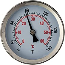 Fast Ferment Thermometer Stainless Steel Thermometer. Compatible with our 3 Gallon, 7.9 Gallon and 14 Gallon Conical Fermenters. FasterFerment Accessories