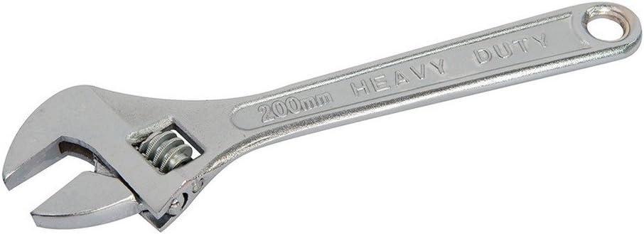 Silverline Wr20 Clé à molette Mâchoire 22 mm avec longueur 200 mm 26 mm