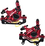 Mountain Bike Disc Brakes Steel Outdoor Cycling Front Rear Brake Clamp Mechanical Caliper Sporting Accessory