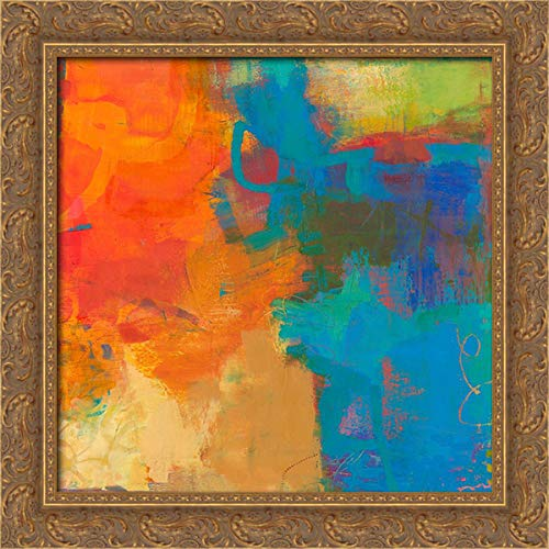 (Olio 20x20 Gold Ornate Wood Framed Canvas Art by Jachimiec, Sue)