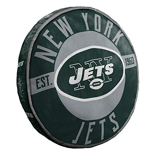 The Northwest Company New York Jets NFL 15in Cloud Travel Pillow