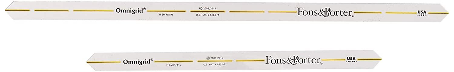 Amazon.com: Fons & Porter R7899 Extra Long Quarter Inch Seam Markers, 14-Inch & 18-Inch: Home & Kitchen