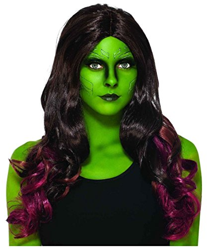 Marvel Guardians of the Galaxy Gamora Adult Wig