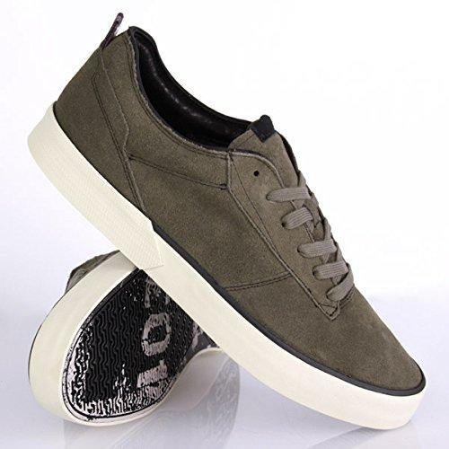 Volcom Steelo x Skullphone Shoe Army Green Vert