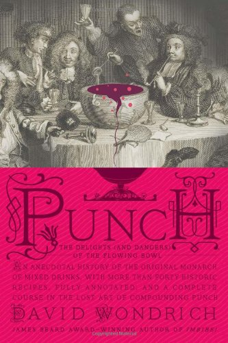 Punch Delights Dangers Flowing Bowl