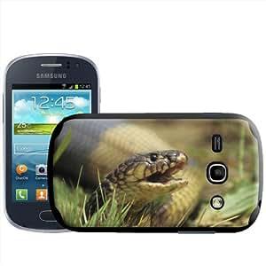 Fancy A Snuggle - Carcasa rígida para Samsung Galaxy Fame S6810, diseño de cobra egipcia