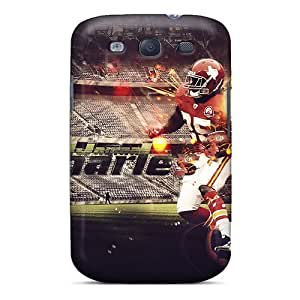 High Impact Dirt/shock Proof Case Cover For Galaxy S3 (kansas City Chiefs)