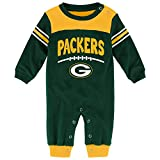 "Green Bay Packers Cover 2"" NFL Infant Coveralls"