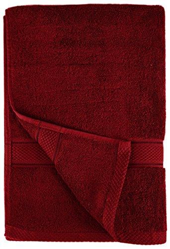 Pinzon Blended Egyptian Cotton 6-Piece Towel Set, Cranberry