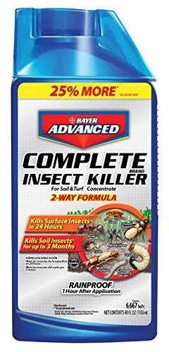 Bayer Advanced 700270 Complete Insect Killer for Soil and Turf Concentrate, 40-Ounce by Bayer
