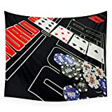 Society6 Poker Wall Tapestry Large: 88'' x 104''