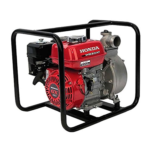Honda - General Purpose 2-Inch Centrifugal Water Pump with GX12 118cc Series Commercial Grade Engine and 164 GPM Capacity - WB20XT4A by Honda