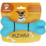 Chew toys, Tough Dog Chews Toy for Aggressive Chewers Indestructible Rubber Bone Toys Perfect for Training Keeping Pets Fit