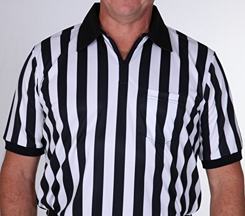 UMP ATTIRE ZX1 Football or Wrestling Official Referee Shirt (XL)