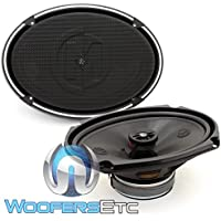 Memphis Audio 15-PRX692 (15PRX692) 6 x 9 2-Way Power Reference Coaxial Speakers
