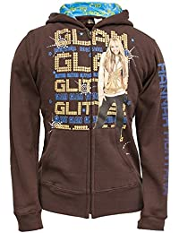 Hannah Montana - Girls Glam Glitter Youth Hoodie