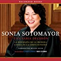 Sonia Sotomayor: Una sabia decision [A Wise Decision] Audiobook by Mario Szichman Narrated by Denisse Oller