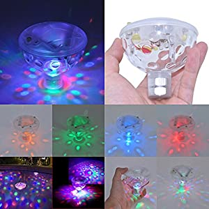 Waterproof Color Changing Bathroom LED Light Toys In Tub Pond Pool Spa Hot Tub  Bathtub Floating Lamp
