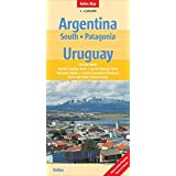 Argentina: South, Patagonia, Uruguay: 1:2.500.000 (Nelles Map)