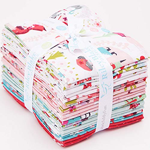 Jill Howarth Little Red in The Woods 21 Fat Quarters Riley Blake Designs ()