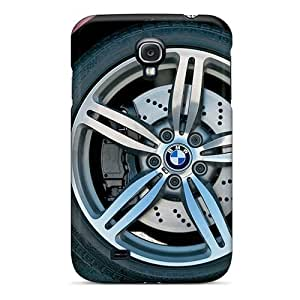 High Quality LMK6077lFmO Red Bmw M6 Wheel Section Tpu Cases For Galaxy S4