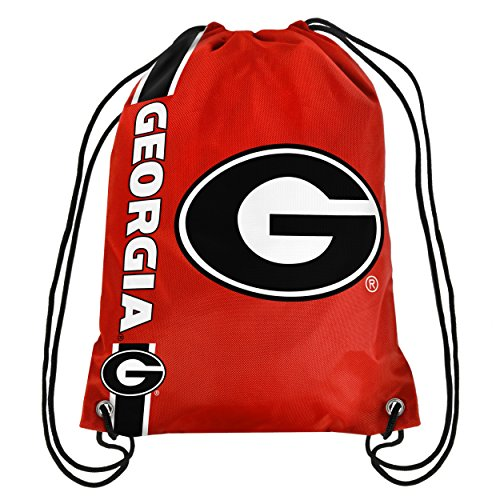 FOCO Georgia Big Logo Drawstring Backpack (Georgia Bulldogs Ncaa Drawstring)
